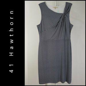 41 Hawthorn Women Sleeveless Dress Size  XL Blue